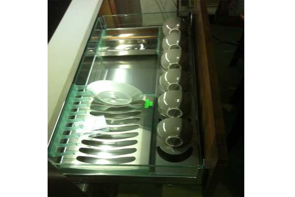 Kệ úp bát đĩa vách kính ck26b