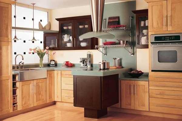 Tủ bếp gỗ Ash 20