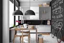6 mẫu tủ bếp gỗ ash đẹp nhất năm 2020