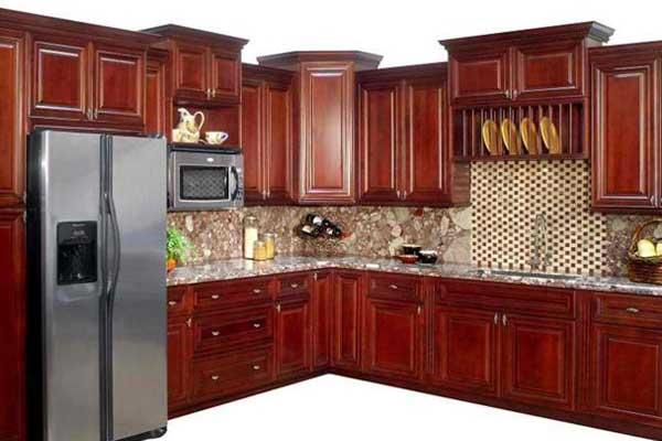 Tủ bếp gỗ Căm Xe 25