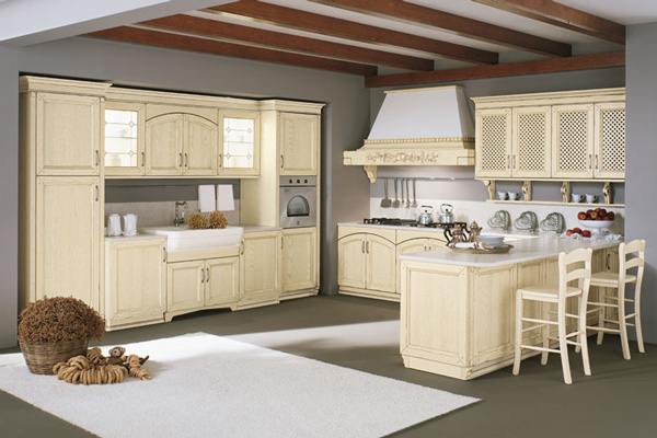 Tủ bếp gỗ Sồi số 21