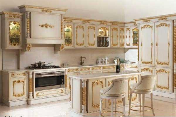 Tủ bếp tân cổ điển 10