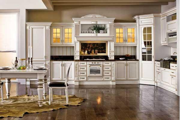Tủ bếp tân cổ điển 12
