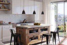 Thiết kế và thi công tủ bếp di động giá rẻ uy tín