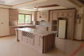 Bán tủ bếp gỗ dổi đảm bảo chất lượng