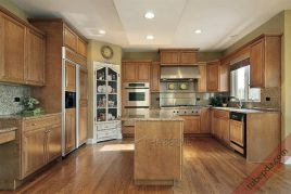 Dịch vụ lắp đặt tủ bếp gỗ dổi bảo hành chu đáo