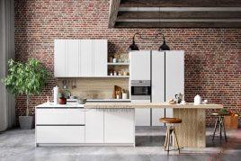 Bán tủ bếp gỗ gõ đỏ đảm bảo chất lượng