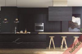 6 mẫu tủ bếp gỗ hương đẹp nhất năm 2020