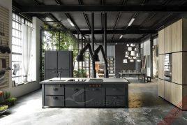 Thiết kế và thi công tủ bếp sát trần giá rẻ uy tín