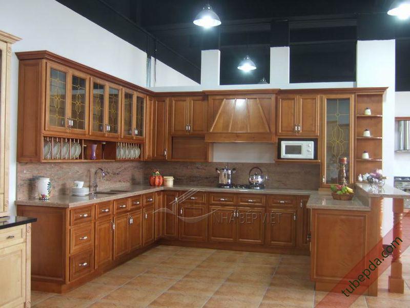 tủ-bếp-gỗ-tự-nhiên (1)