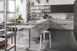 Tủ bếp cdf tại Nhà Bếp Việt cao cấp sang trọng quý phái