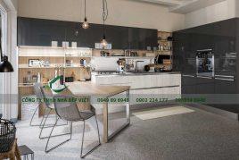 Đơn vị cung cấp tủ bếp gỗ ash uy tín giá rẻ chất lượng