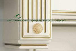 Địa chỉ cung cấp tủ bếp gỗ hương đảm bảo chất lượng tốt