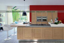 Cung cấp tủ bếp gỗ việt uy tín, chất lượng, giá rẻ tại HCM