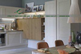 Những mẫu tủ bếp gỗ walnut đẹp, chất lượng, giá rẻ