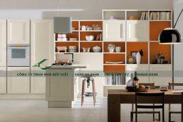 Cung cấp tủ bếp gỗ xoan đào uy tín, đảm bảo chất lượng