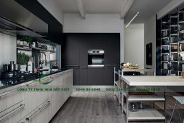 Vì sao nên chọn tủ bếp Laminate?