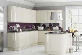 Thiết kế tủ bếp CDF sở hữu đường nét năng động, hiện đại