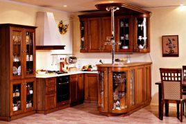5 mẫu tủ bếp cổ điển đẹp chết người