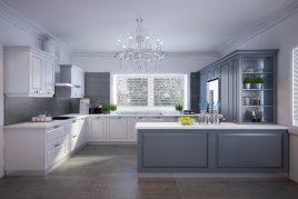 5 mẫu tủ bếp tân cổ điển đáng tham khảo