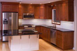 Mẫu tủ bếp gỗ cho người năng động
