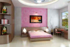 Bộ phòng ngủ đẹp bằng gỗ công nghiệp