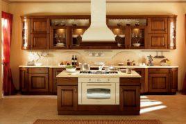Tủ bếp gỗ tự nhiên có thật sự Bền và Tốt?