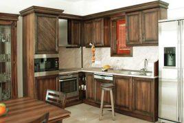 Ưu điểm vượt trội của tủ bếp gỗ tự nhiên
