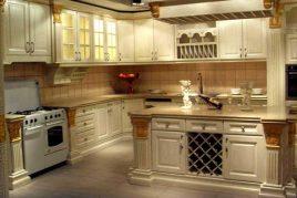 5 Mẫu tủ bếp cổ điển sang trọng năm 2020   Hotline: 1900779942