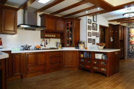 Tủ bếp gỗ gõ đỏ Chất Lượng | Giá tốt HCM | Hotline: 1900779942