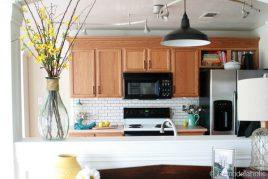 6 Mẫu thiết kế tủ bếp gỗ sồi giá rẻ phù hợp cho mọi nhà