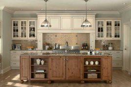Mẫu tủ bếp cổ điển đẹp và sang trọng nhất năm 2020