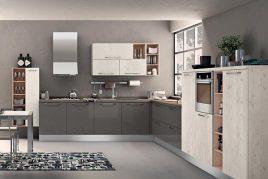 Mẫu tủ bếp nhựa Picomat mang phong cách cổ điển