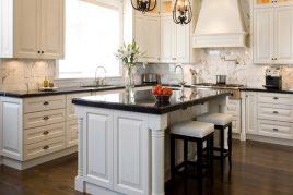 Tủ bếp tân cổ điển mang phong cách hiện đại