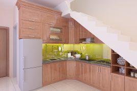 Tìm hiểu về tủ bếp gỗ xoan đào
