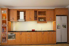 Tủ bếp gỗ sồi có những đặc trưng gì? Giá ra sao?