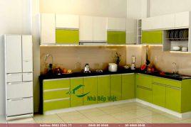 Báo giá 3 loại tủ bếp gỗ công nghiệp giá rẻ cho nhà bếp
