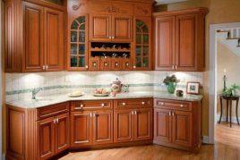 Tủ bếp gỗ xoan đào hoàng anh gia lai có bền không?