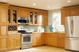 Tủ Bếp Gỗ Xoan Đào Đẹp Kiêu Sa 2020
