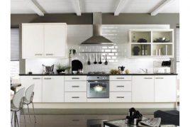 Tủ bếp hiện đại chữ L tô điểm cho không gian bếp
