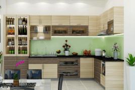 Tủ Bếp Nhựa Hiện Đại Đang Dần Thay Thế Tủ Bếp Gỗ?
